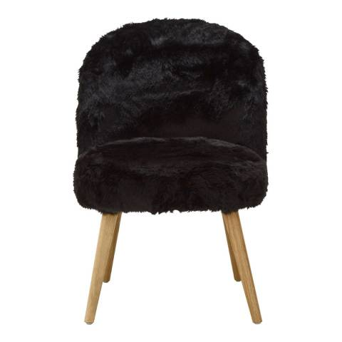 Premier Housewares Cabaret Chair, Black