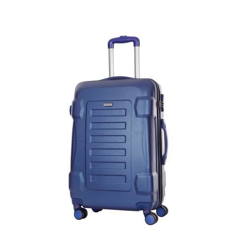 Travel One Blue Linden 8 Wheeled Suitcase 50cm