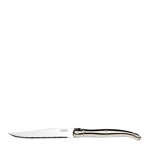 Laguiole Set of 6 Stainless Steel Knives