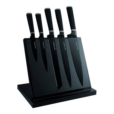 Laguiole Magnetic Knife Block Set