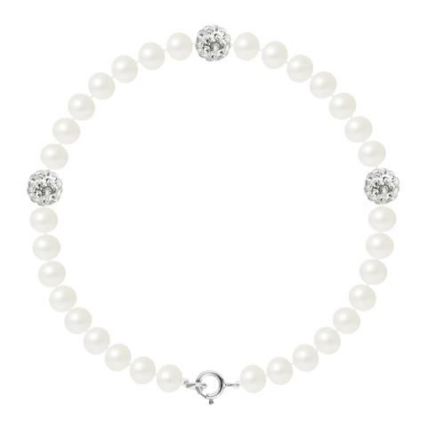 Wish List White Freshwater Pearl Bracelet