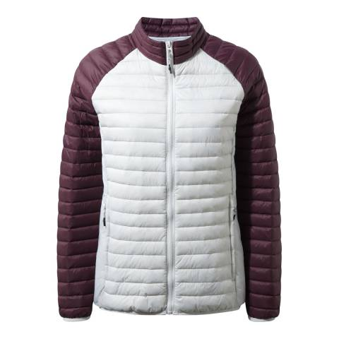 Craghoppers White/Purple Venta Lite II Jacket