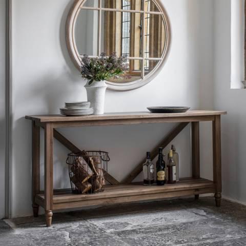 Gallery Cookham Trestle Console Table, Oak