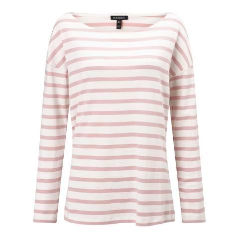 Baukjen Quartz Pink/White Stripe Lilly Relaxed Top