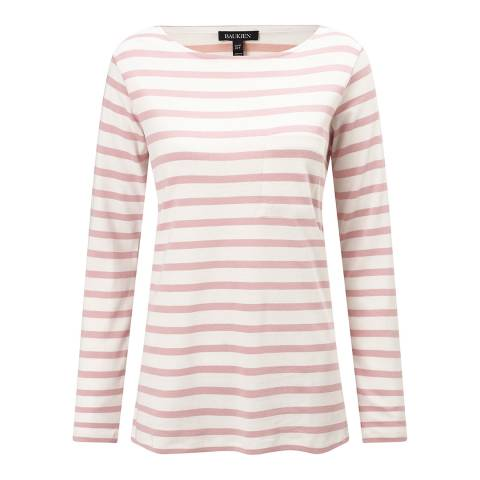 Baukjen Quartz Pink/White Stripe Lilly Everyday Top