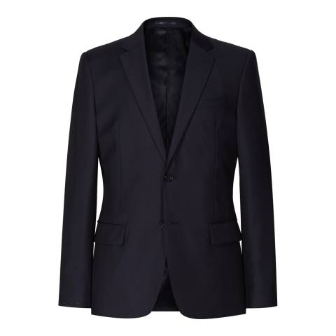 Reiss Navy Harry Modern Suit Jacket