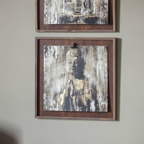 Gallery Serenity Buddha I Framed Art 53x53cm