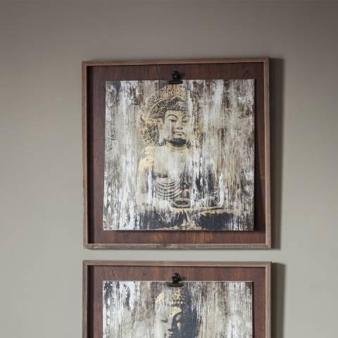 Gallery Serenity Buddha II Framed Art 53x53cm