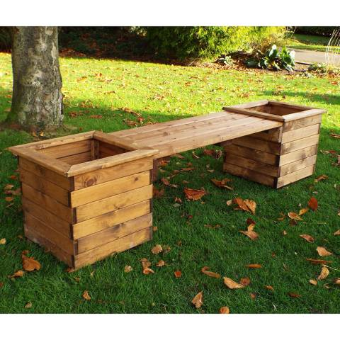 Charles Taylor Deluxe Planter Bench