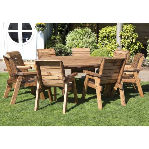 Charles Taylor Eight Seater Circular Table Set (Chairs)