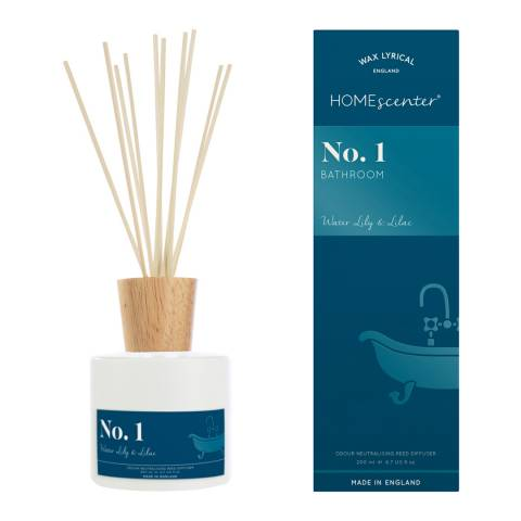 Wax Lyrical Reed Diffuser, Waterlily & Lilac, 200ml, Homescenter