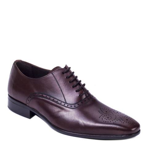 Ortiz & Reed Brown Leather Alondra Oxford Brogues