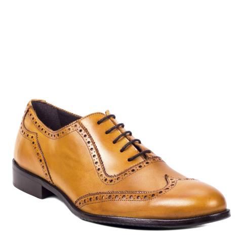Ortiz & Reed Tan Leather Antolino Oxford Brogues