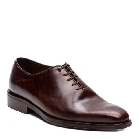Ortiz & Reed Brown Leather Archival Oxford Shoes