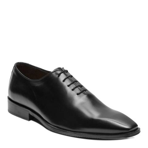 Ortiz & Reed Black Leather Arpa Oxford Shoes