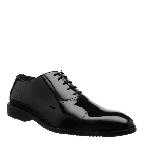 Ortiz & Reed Black Patent Leather Cambel Oxford Shoes