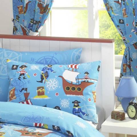 Kids Club Sea Pirates 168x183cm Curtains