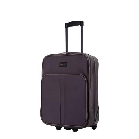 Cabine Size Dark Grey Amallia 2 Wheel Cabin Suitcase 48 cm
