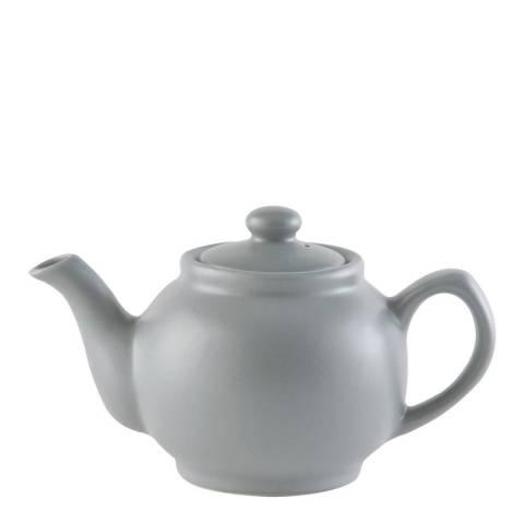 Price & Kensington Matt Grey Teapot, 6 Cup