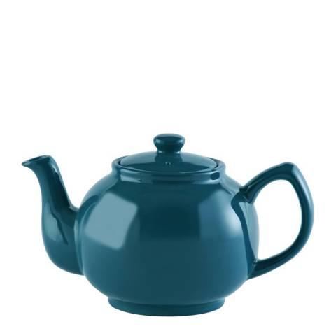 Price & Kensington Teal Blue Teapot, 6 Cup