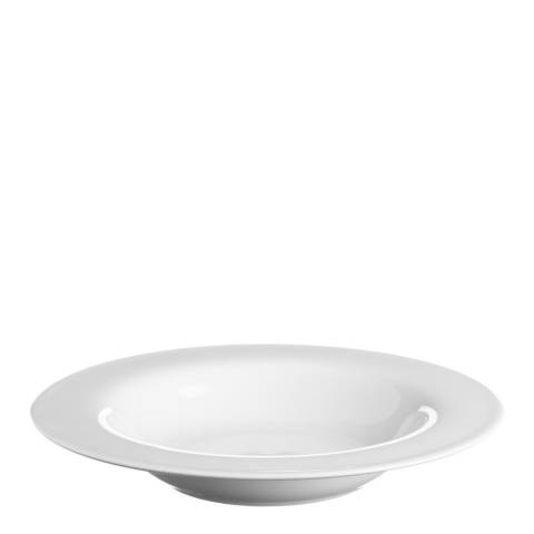 Price & Kensington Simplicity Set of 12 Rim Soup Plates, 21.5cm