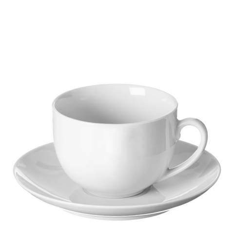 Price & Kensington Simplicity Set of 12 Teacups & Saucers