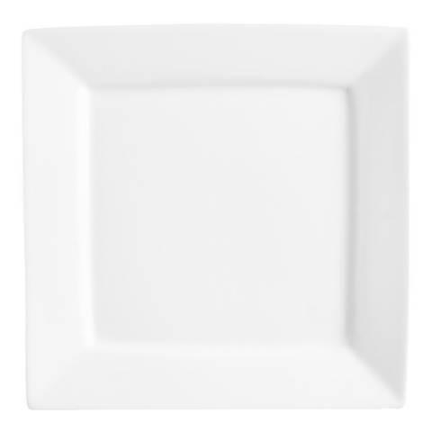 Price & Kensington Simplicity Set of 6 Square Plates, 25cm