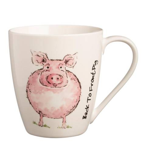 Price & Kensington Back To Front Set of 6 Pig Mugs