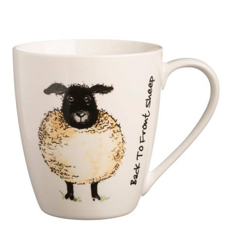 Price & Kensington Back To Front Set of 6 Sheep Mugs