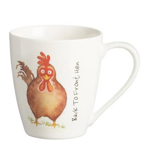 Price & Kensington Back To Front Set of 6 Hen Mugs