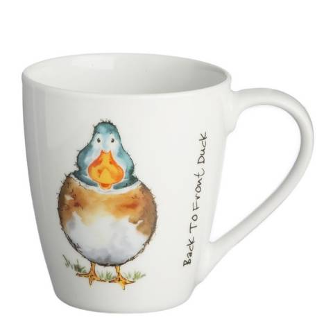 Price & Kensington Back To Front Set of 6 Duck Mugs