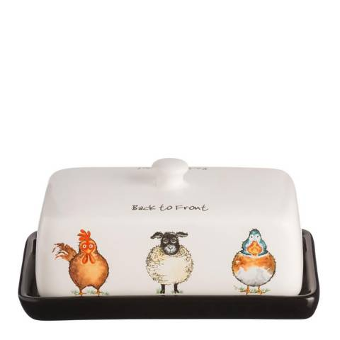 Price & Kensington Back To Front Butter Dish