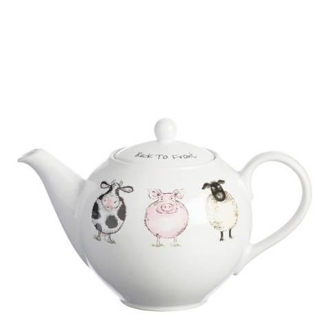 Price & Kensington Back To Front Teapot, 800ml