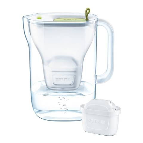 Brita Style Water Filter Jug, Lime