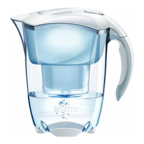 Brita Elemaris Water Filter Jug Cool White