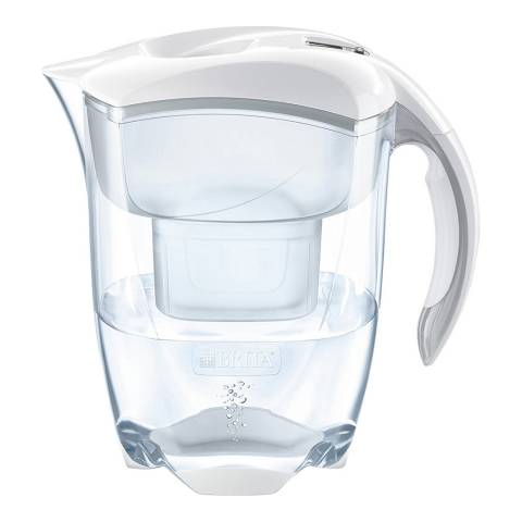 Brita Elemaris Water Filter Jug XL White