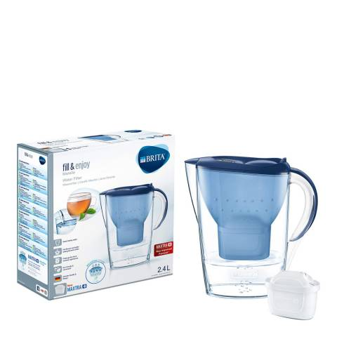 Brita Marella Water Filter Jug Cool Blue