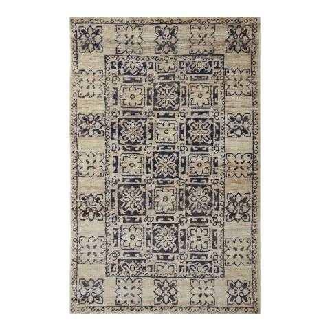 Rug Bazaar Bleach Multi Coloured 152x244cm Rug