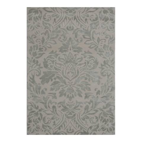 Rug Bazaar Grey/ 152x244cm Rug