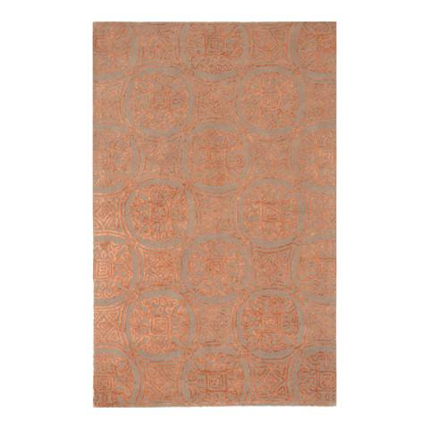 Rug Bazaar Brown/Rust 152x244cm Rug
