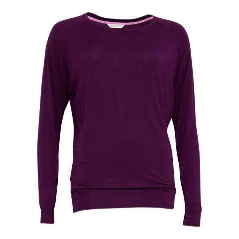Cyberjammies Purple Anna Knit Long Sleeve Top