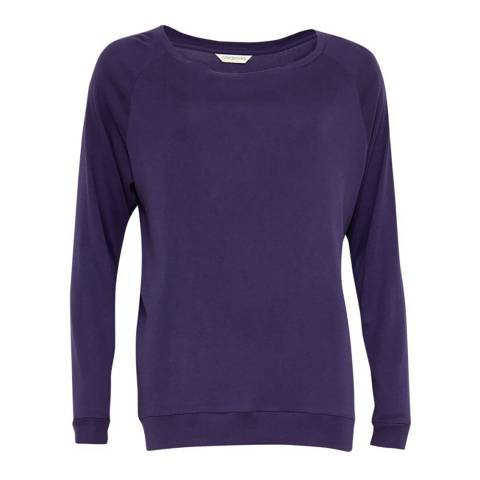 Cyberjammies Purple Abigal Knit Long Sleeve Top