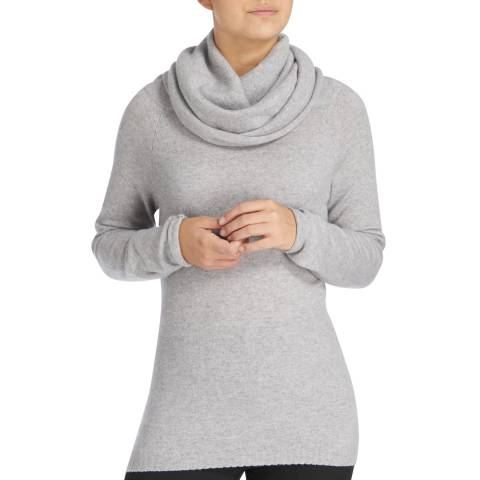 Scott & Scott London Grey Jessica Jaffa Cashmere Jumper