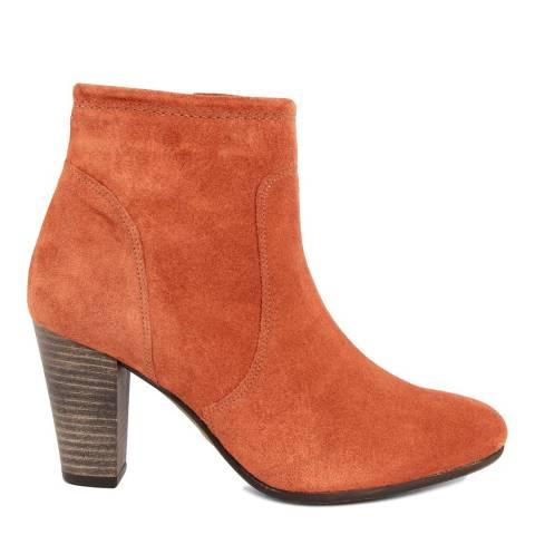 Eye Burnt Orange Suede Ankle Boot