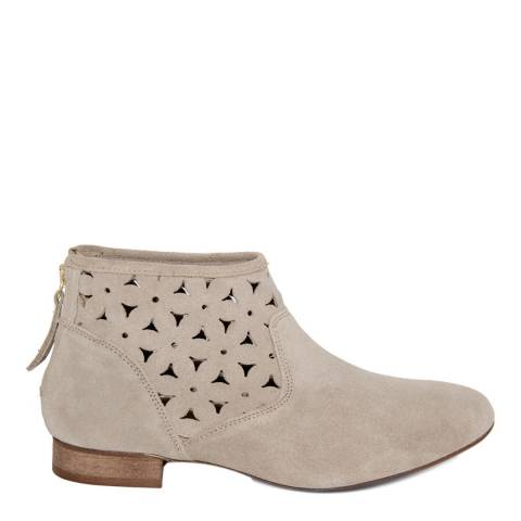 Eye Taupe Suede Patterned Ankle Boot