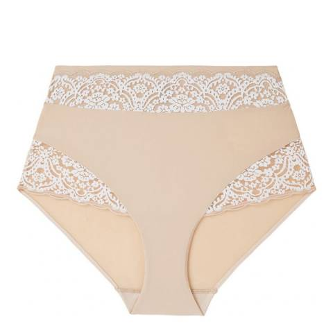 Fayreform Beige Sculptress Full Brief
