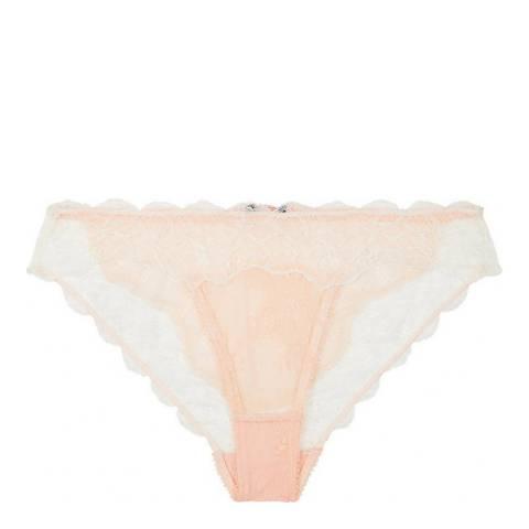 Heidi Klum Intimates Pink/White Primrose Desire Bikini Brief