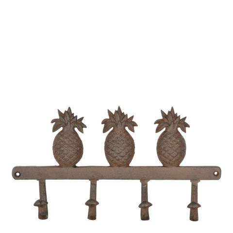 Fallen Fruits Cast Iron Pineapple Hook Hanger