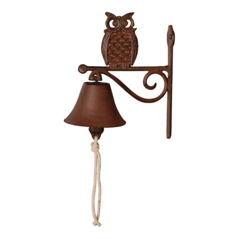 Fallen Fruits Cast Iron Owl Doorbell