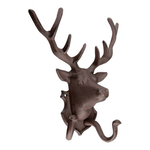 Fallen Fruits Cast Iron Deer Coat Hook